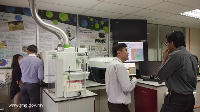 Demonstrasi Analisis Isotope Ratio