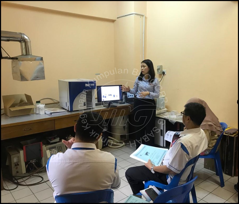 LATIHAN PENGENDALIAN DIRECT MERCURY ANALYZER