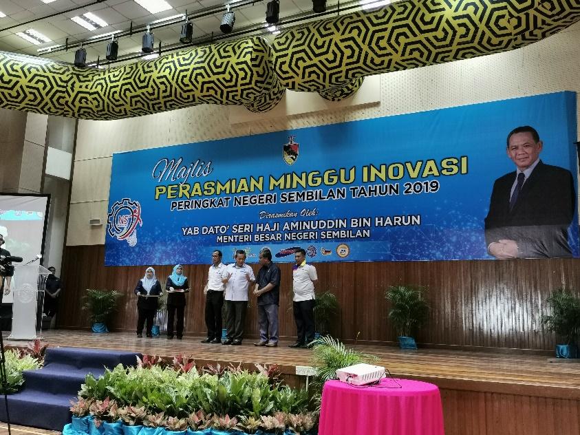 Majlis Perasmian Minggu Inovasi Peringkat Negeri Sembilan 2019