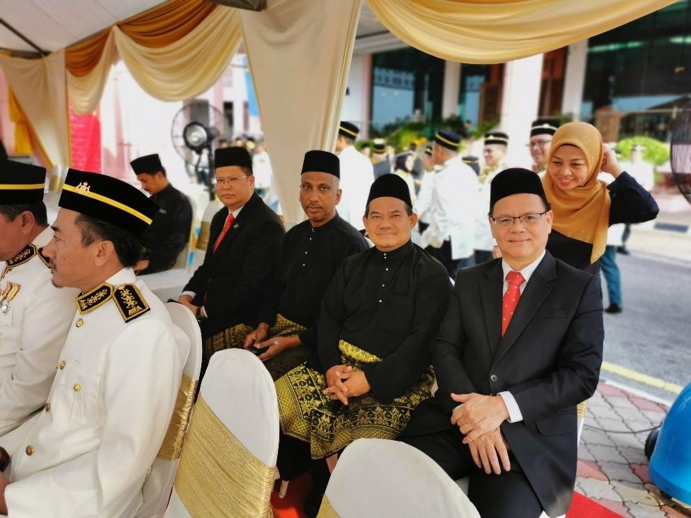 Istiadat Penganugerahan Darjah Bintang dan Pingat Kebesaran Negeri Melaka