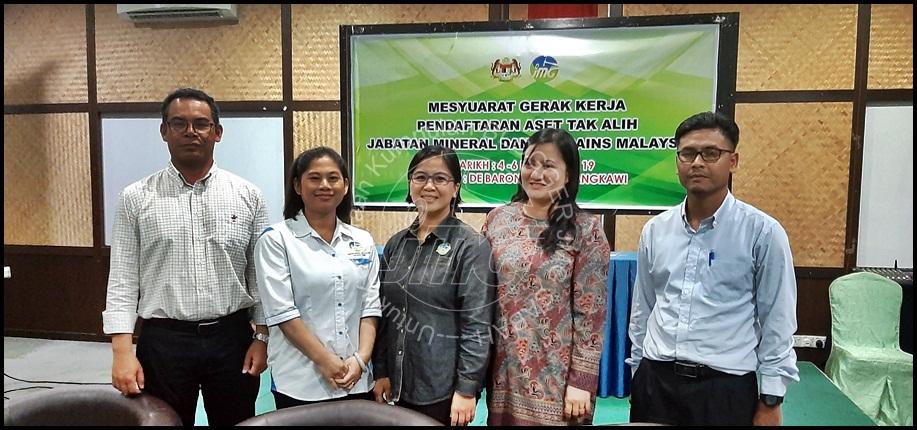 MESYUARAT GERAK KERJA PENDAFTARAN ASET TAK ALIH DAN PENGEMASKINIAN BORANG PENDAFTARAN BAGI ASET TELAGA TIUB DI JMG MALAYSIA