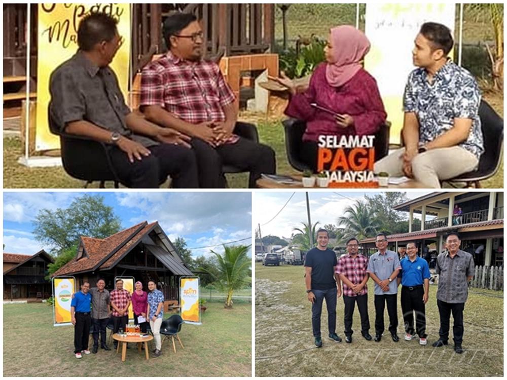 PENGARAH JMG JOHOR DALAM PROGRAM CITRA DESA SELAMAT PAGI MALAYSIA