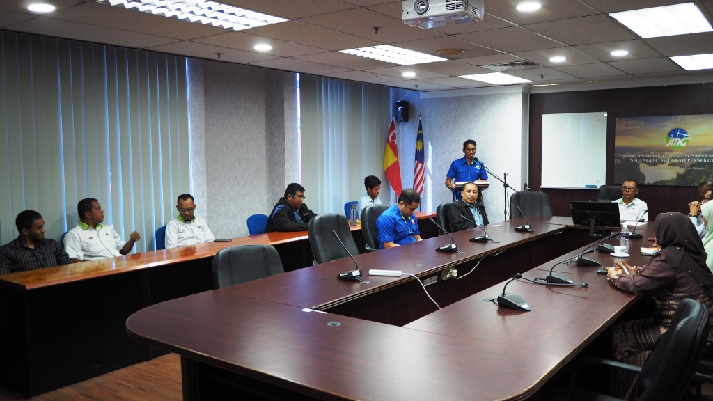 MAJLIS PERHIMPUNAN BULANAN JMGSWP BIL. 11/2019