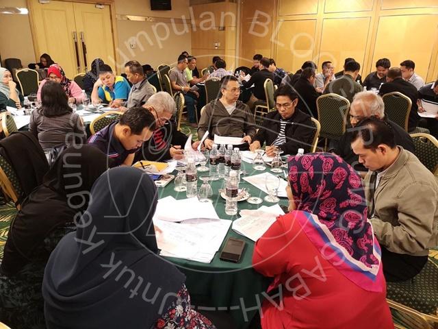 MESYUARAT DAN GERAK KERJA PEMANTAPAN PENGURUSAN PEROLEHAN KERJA JABATAN MINERAL DAN GEOSAINS MALAYSIA