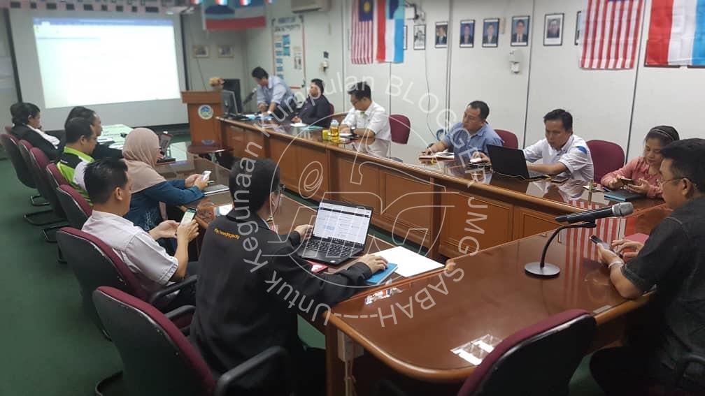 MESYUARAT PEMBANGUNAN JMG SABAH SUKU TAHUN KEEMPAT 2019