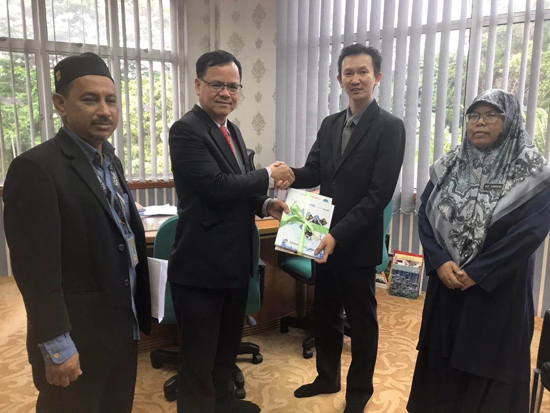 Kunjungan Hormat Setiausaha Majlis Perbandaran Jasin ke JMG NSM