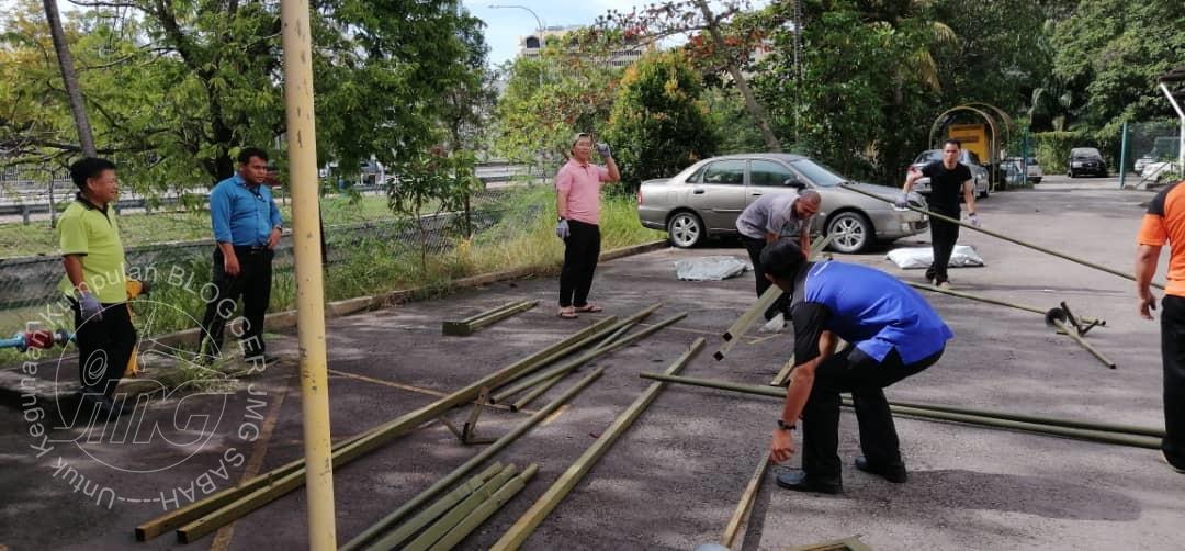 PERSIAPAN DAN PERSEDIAAN UNTUK SAMBUTAN HARI INOVASI JMG SABAH 2019