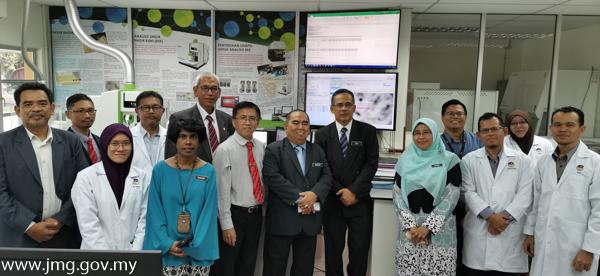 Lawatan KP JMG Ke Bilik Instrumentasi LAICPMS
