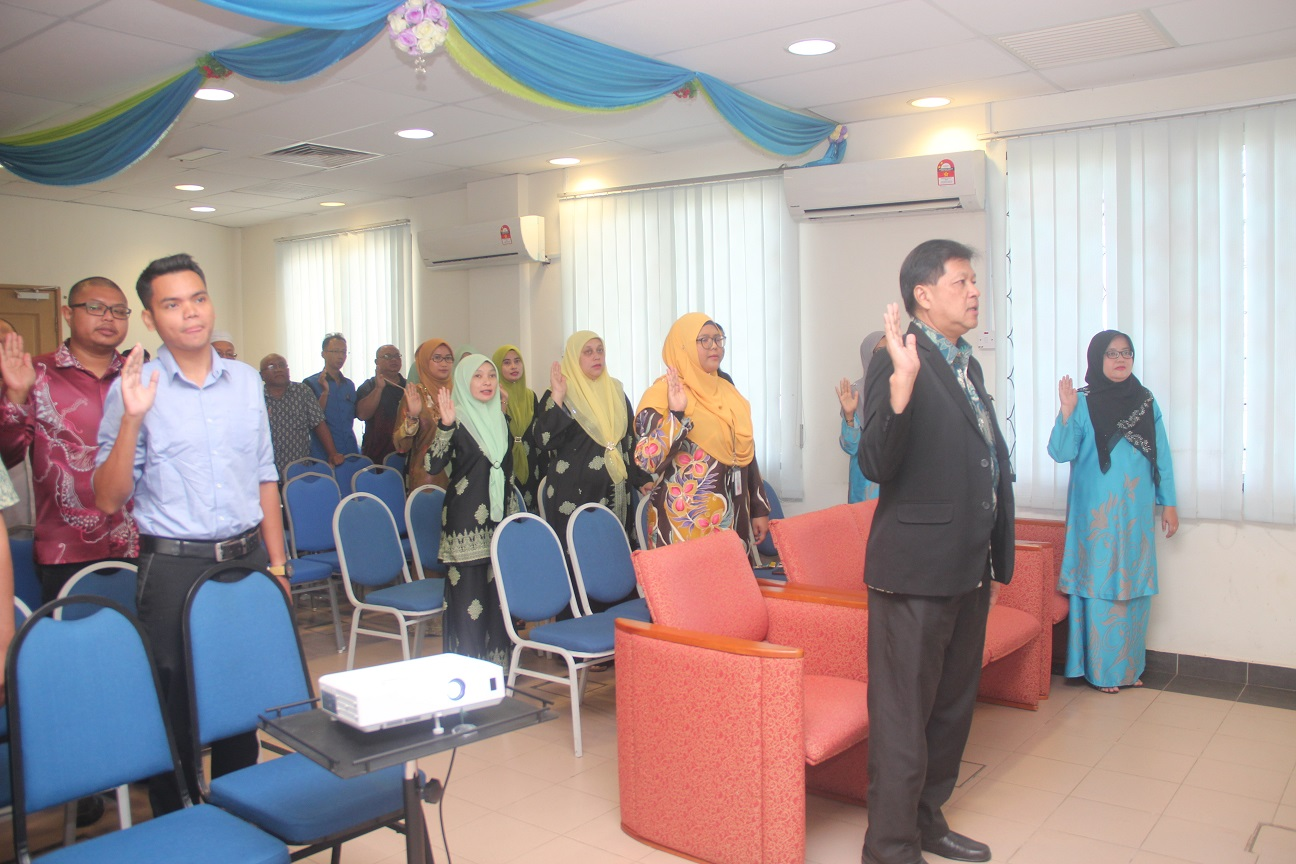 Program Perhimpunan Bulanan JMG Pahang Bil 1/2020