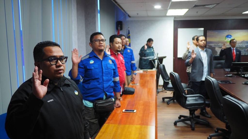 MAJLIS PERHIMPUNAN BULANAN JMGSWP BIL. 01/2020