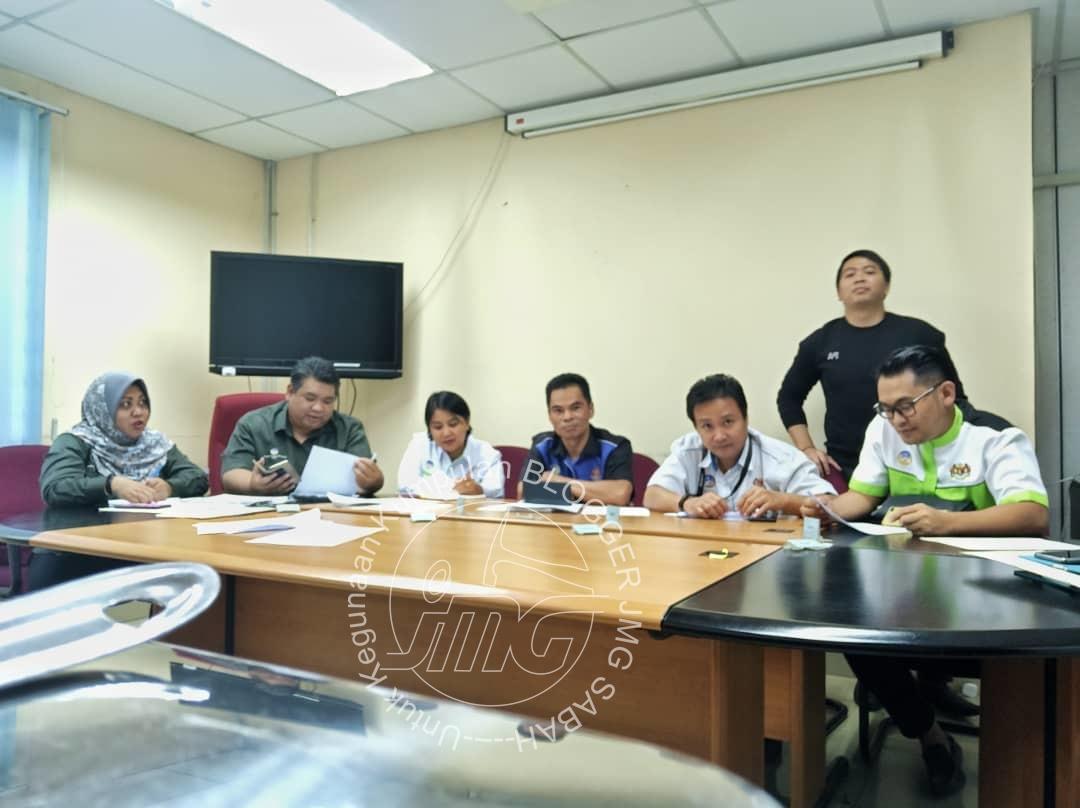 MESYUARAT AJK BLOGGER JMG SABAH BIL. 1/2020