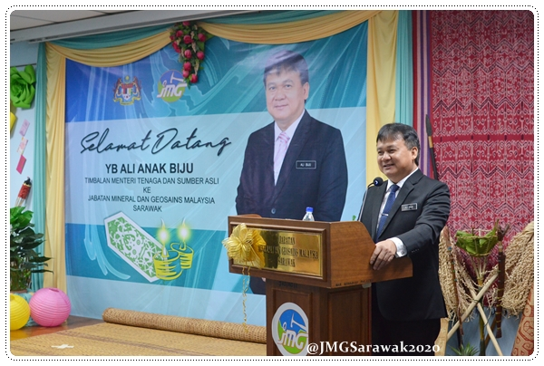 LAWATAN KERJA YANG BERHORMAT TIMBALAN MENTERI TENAGA DAN SUMBER ASLI MALAYSIA