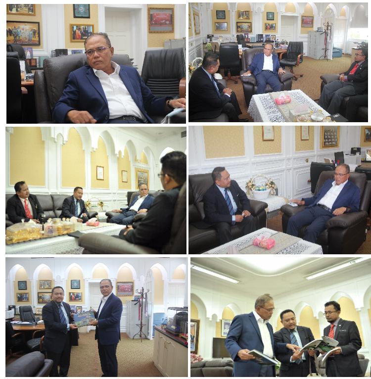 Kunjungan Hormat Pengarah JMG Pahang kepada Menteri Besar Pahang Oktober 2020