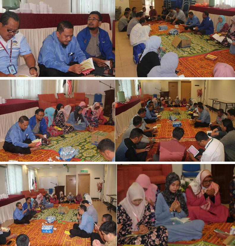 Majlis Bacaan Yasin, Tahlil Ringkas dan Doa Selamat  JMG Pahang Okt 2020