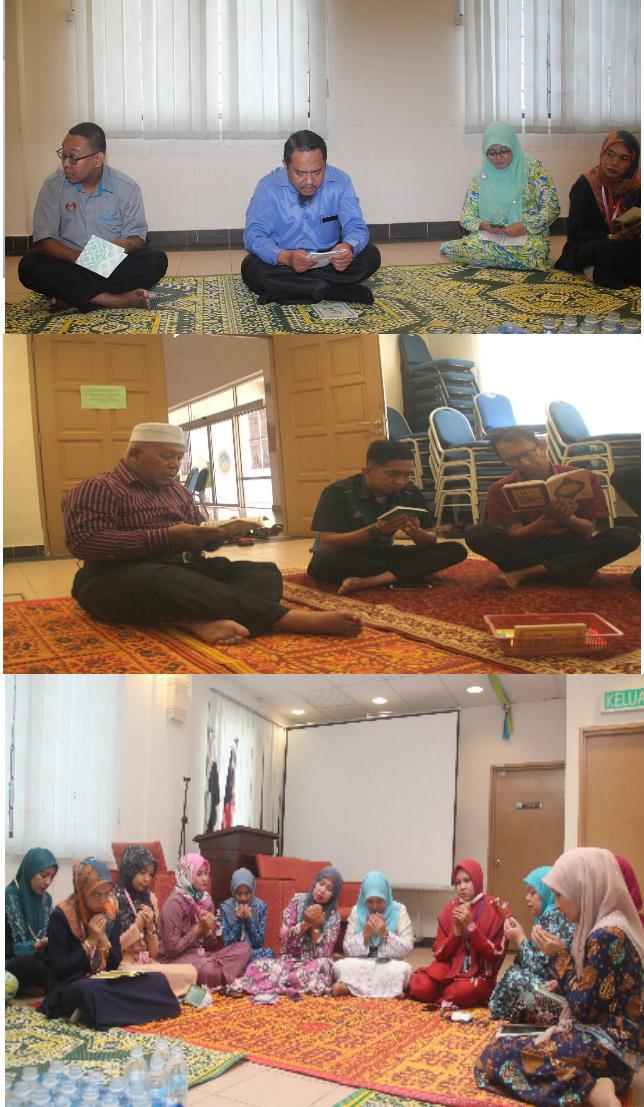 Majlis Bacaan Yasin dan Doa Selamat  JMG Pahang November 2020