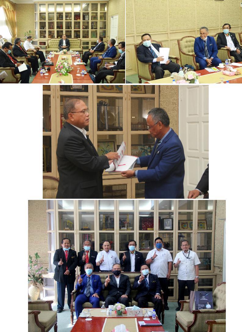 Kunjungan Hormat JMG Malaysia kepada Menteri Besar Pahang, Disember 2020