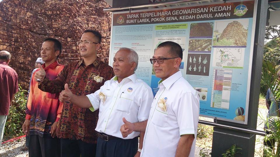 Kenyataan Media JMG Bersempena Majlis Perasmian Tapak Terpelihara Geowarisan Negeri Kedah
