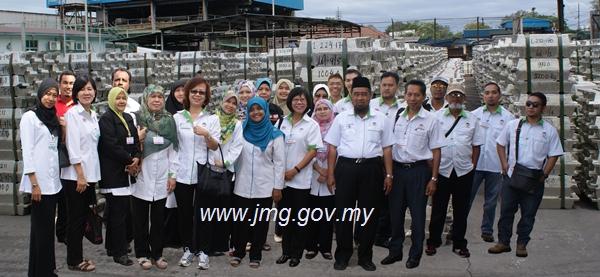 Lawatan Sambil Belajar Ke Malaysia Smelting Corporation