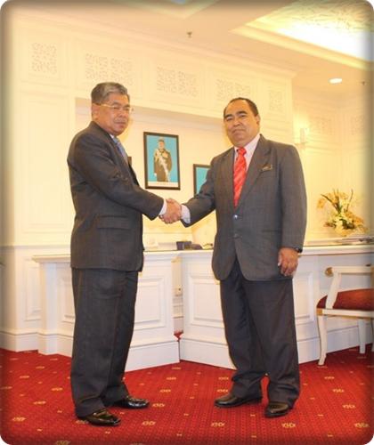 Lawatan Kunjungan Hormat Pengarah JMG Johor Ke Pejabat Setiausaha Kerajaan Negeri Johor,