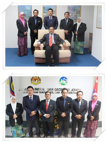 Pengurusan Tertinggi JMG Johor
