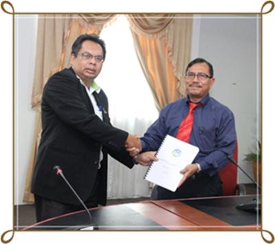 Majlis Perkenalan Bersama Pengarah JMG Johor Yang Baru