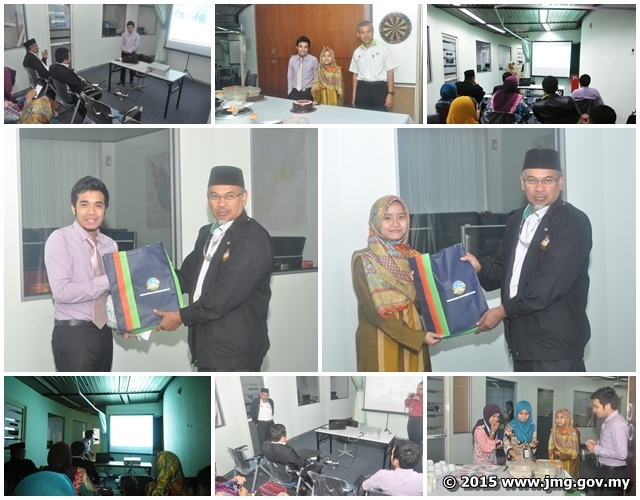Sesi Pembentangan Projek dan Jamuan Perpisahan Pelajar Latihan Industri Cawangan Pengurusan Maklumat