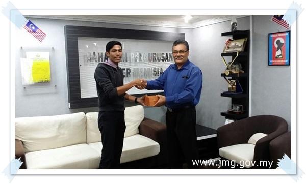Penghargaan Daripada Pejabat Setiausaha Kerajaan Negeri Perak