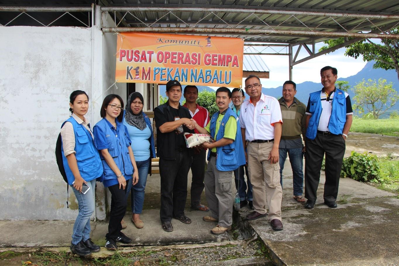 Misi Kemanusiaan Gempa Bumi Sabah