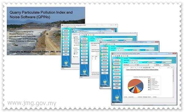 Quarry Particulate Index and Noise Software (QPINs V1.0)- SATU PERISIAN MUDAH UNTUK PENGUSAHA KUARI
