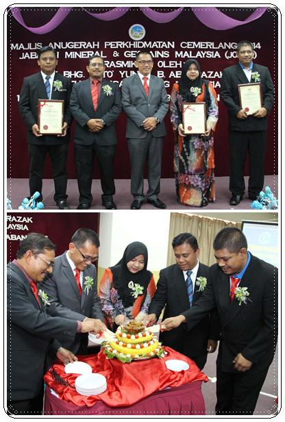Majlis Anugerah Perkhidmatan Cemerlang JMG Johor