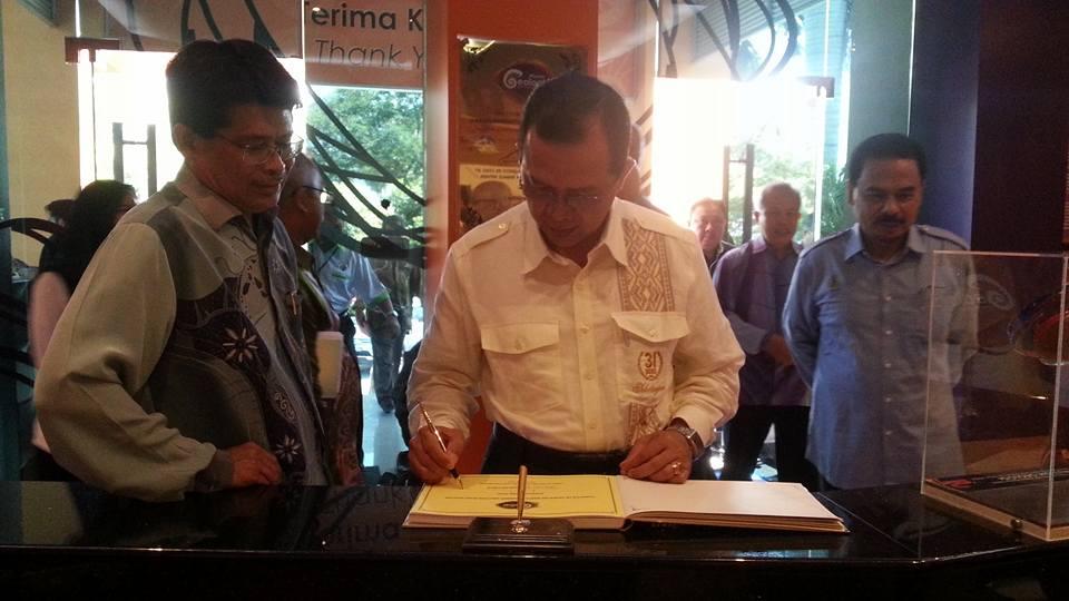 Lawatan Timbalan Menteri Datuk Ir Hj Hamim Samuri