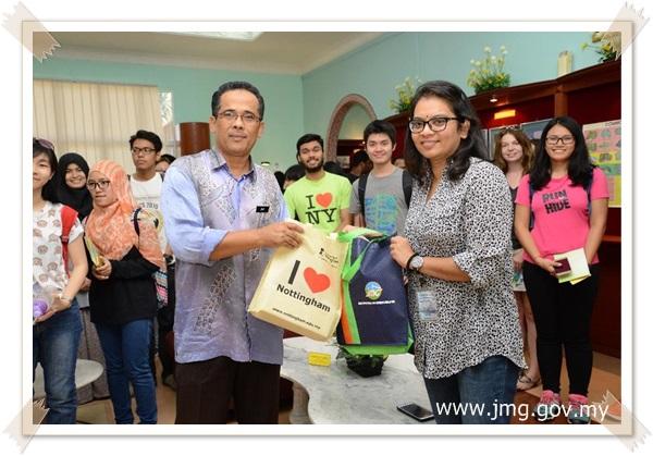 Lawatan Sambil Belajar The University of Nottingham Malaysia Campus ke Pusat Penyelidikan Mineral (PPM)
