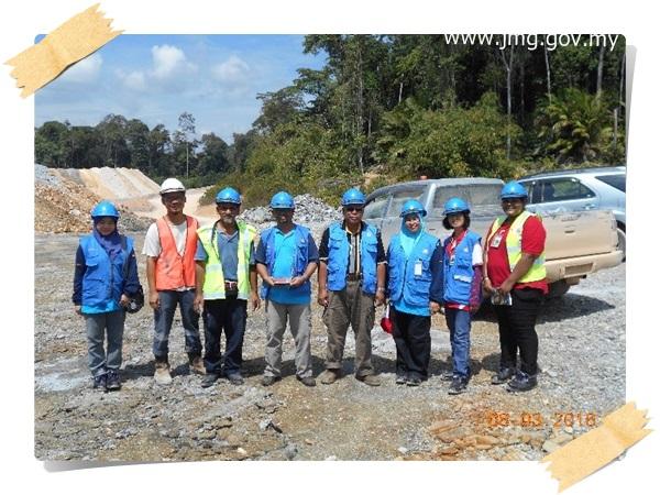 Lawatan ke Selinsing Gold Mine Manager Sdn Bhd dan Rich Marvelous Sdn Bhd di Pahang