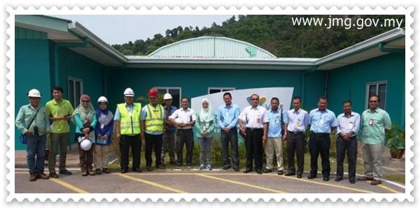 Lawatan Teknikal ke Vale Malaysia Minerals Sdn Bhd