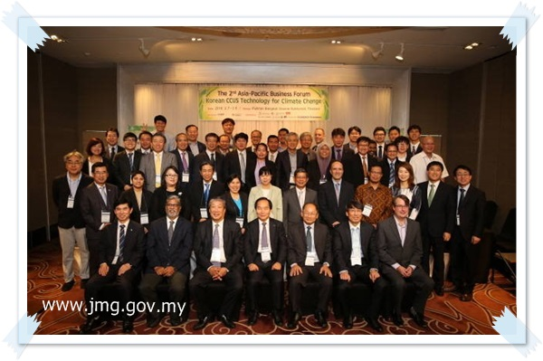 THE 2nd ASIA-PACIFIC BUSINESS FORUM- KOREAN CCUS TECHNOLOGY FOR CLIMATE CHANGE, BANGKOK THAILAND