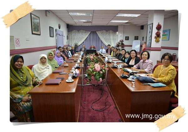 LAWATAN DELEGASI DARI JABATAN SUMBER MINERAL (DMR), THAILAND KE PPM
