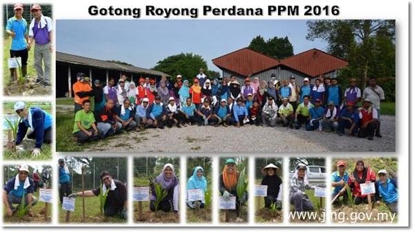 GOTONG ROYONG PERDANA PPM 2016