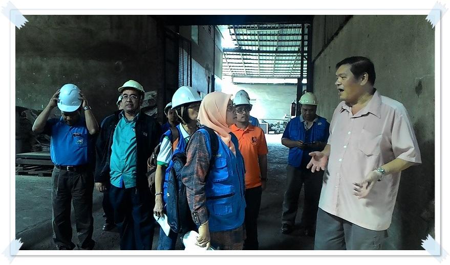 Lawatan dari Pusat Kajian Nadir Bumi (RERC), Universiti Malaysia Pahang (UMP)