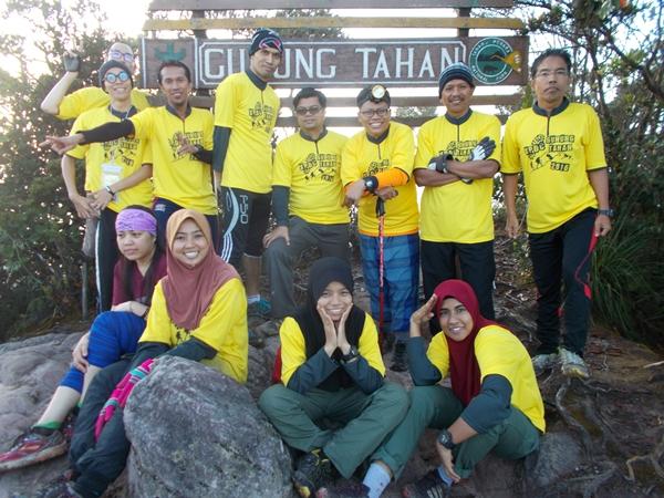 Wawancara Khas Pendakian Gunung Tahan