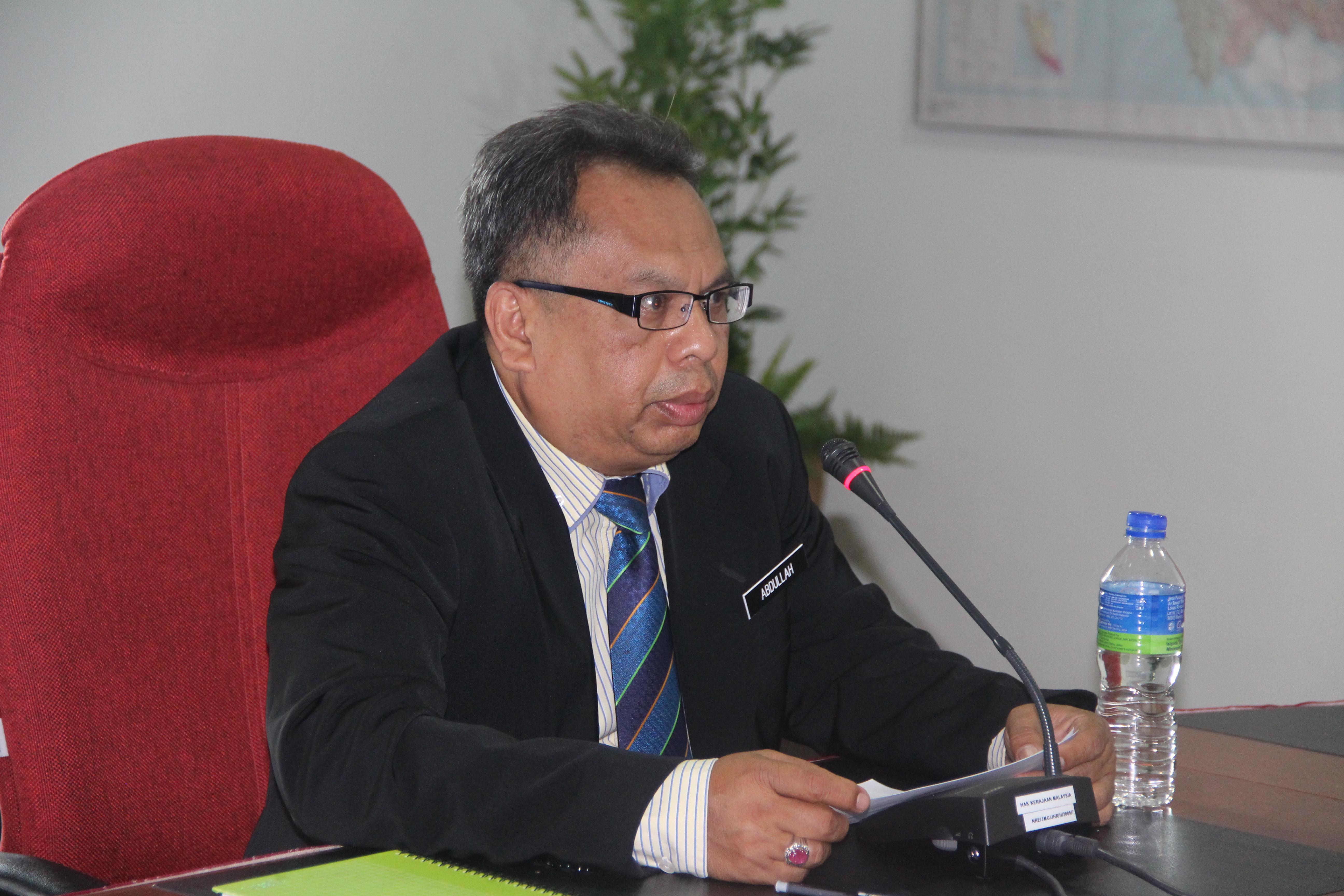 Encik Abdullah Sani dilantik sebagai Pengarah JMG Johor