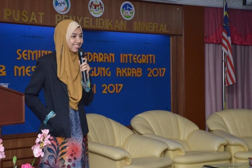 Seminar Kesedaran Integriti dan Mesyuarat Agung AKRAB 2017