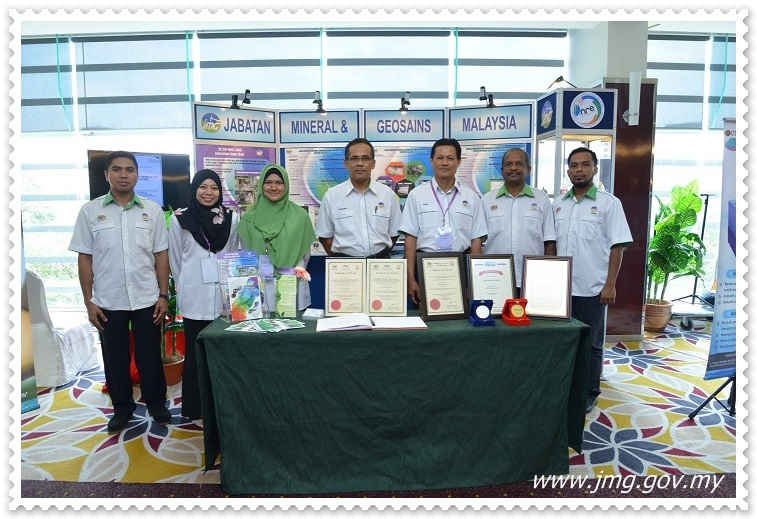 PUSAT PENYELIDIKAN MINERAL MENYERTAI MINI SHOWCASE SEMPENA PENGANJURAN 14th GOVERNING COUNCIL MEETING OF THE CENTRE FOR SCIENCE AND TECHNOLOGY OF THE MOVEMENT OF NON-ALIGNED AND OTHER DEVELOPING COUNTRIES (NAM S&T)