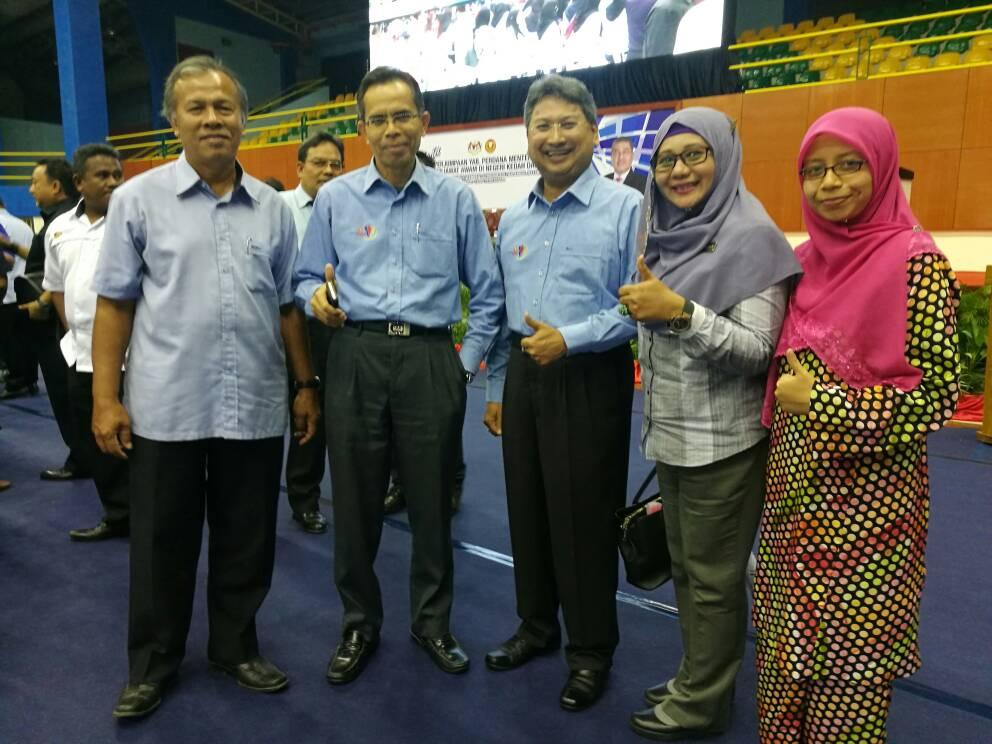 JMG KPP hadir Perhimpunan Penjawat Awam Kedah Bersama PM