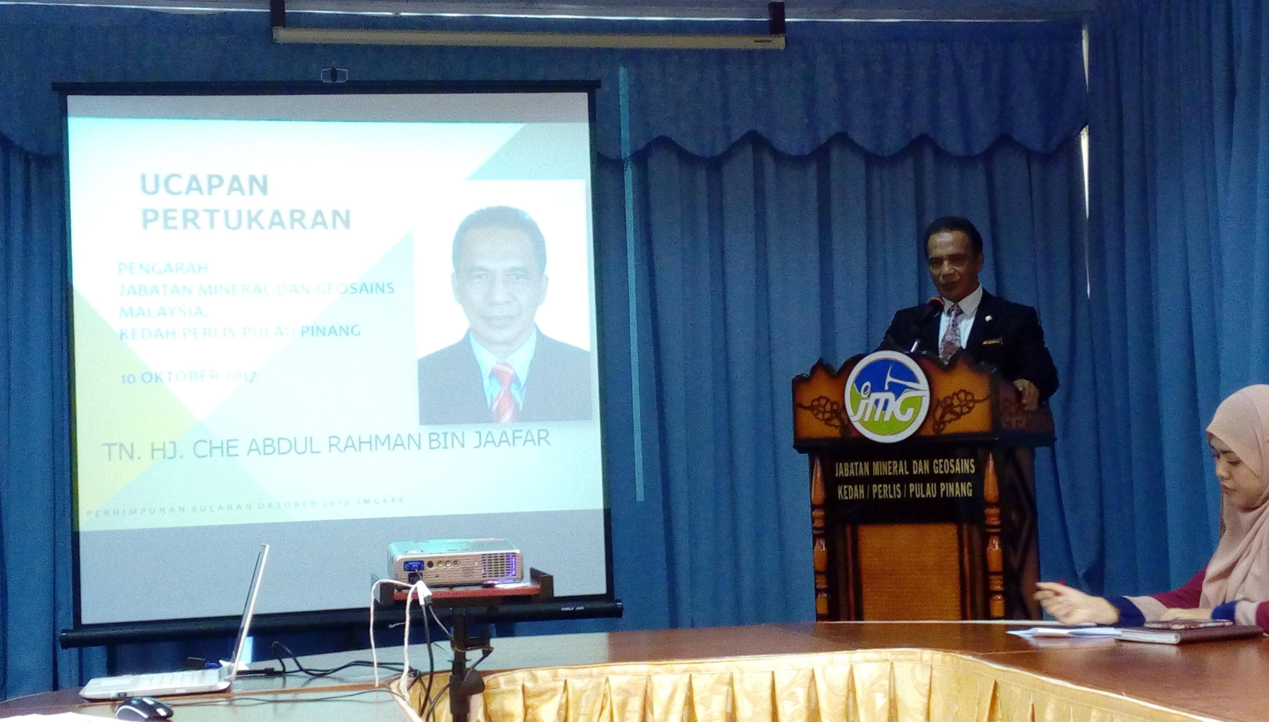 Majlis Jasamu Dikenang Bersempena Pertukaran Pengarah JMG KPP