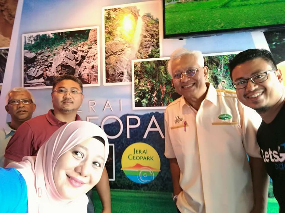 Pameran Geopark Jerai di Majlis Ulangtahun ke-10 Langkawi UNESCO Global Geopark