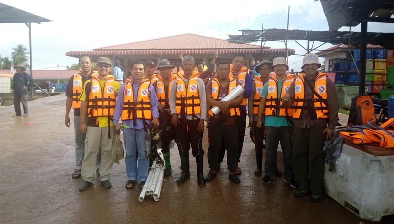 Kursus Persampelan Teras Sedimen Sungai di Kuala Muda