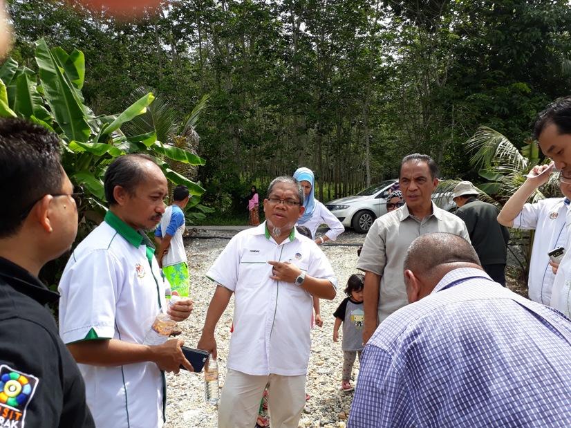 Setiausaha Bahagian Mineral Dan Geosains NRE Lawat Lokasi Telaga Air Tanah Kedah
