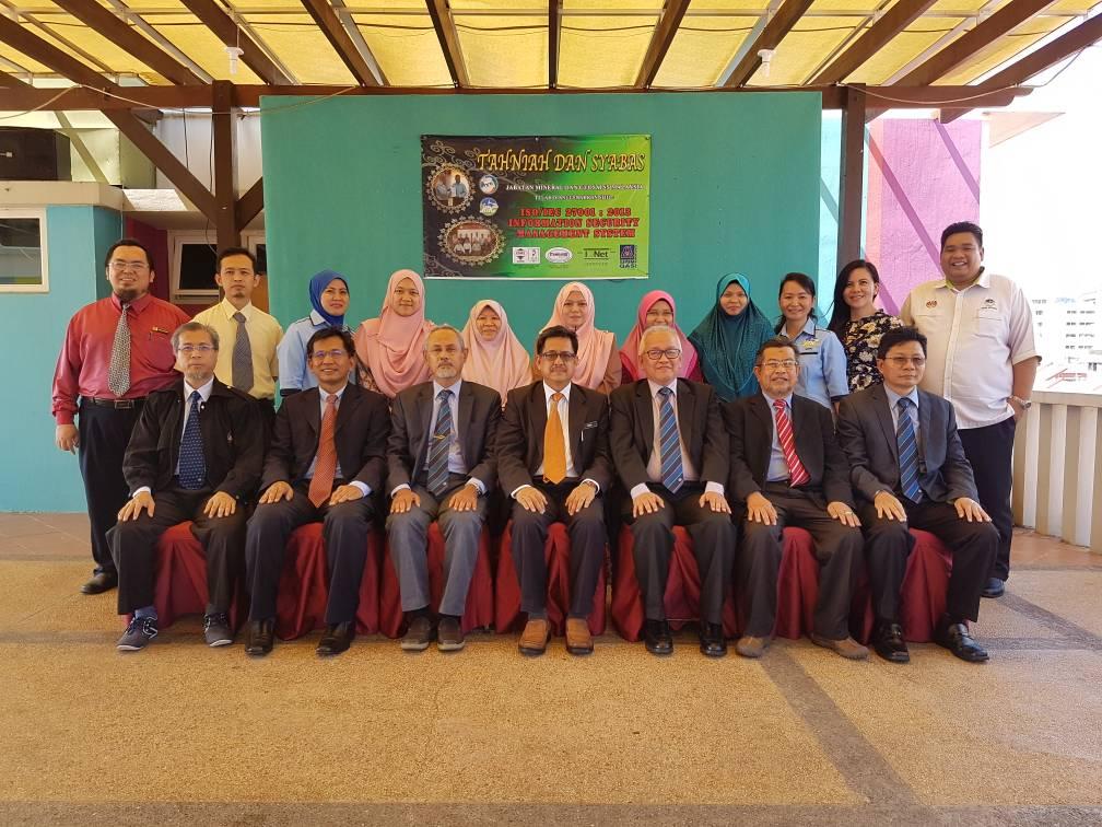 MESYUARAT KAJIAN SEMULA PENGURUSAN (JKSP) ISMS JMG BIL 2/2017