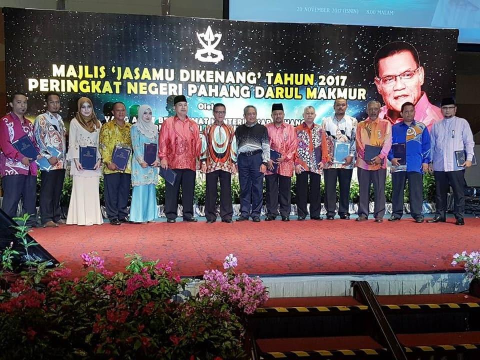 """Majlis 'Jasamu Dikenang"""" Tahun 2017 Peringkat Negeri Pahang Darul Makmur"""