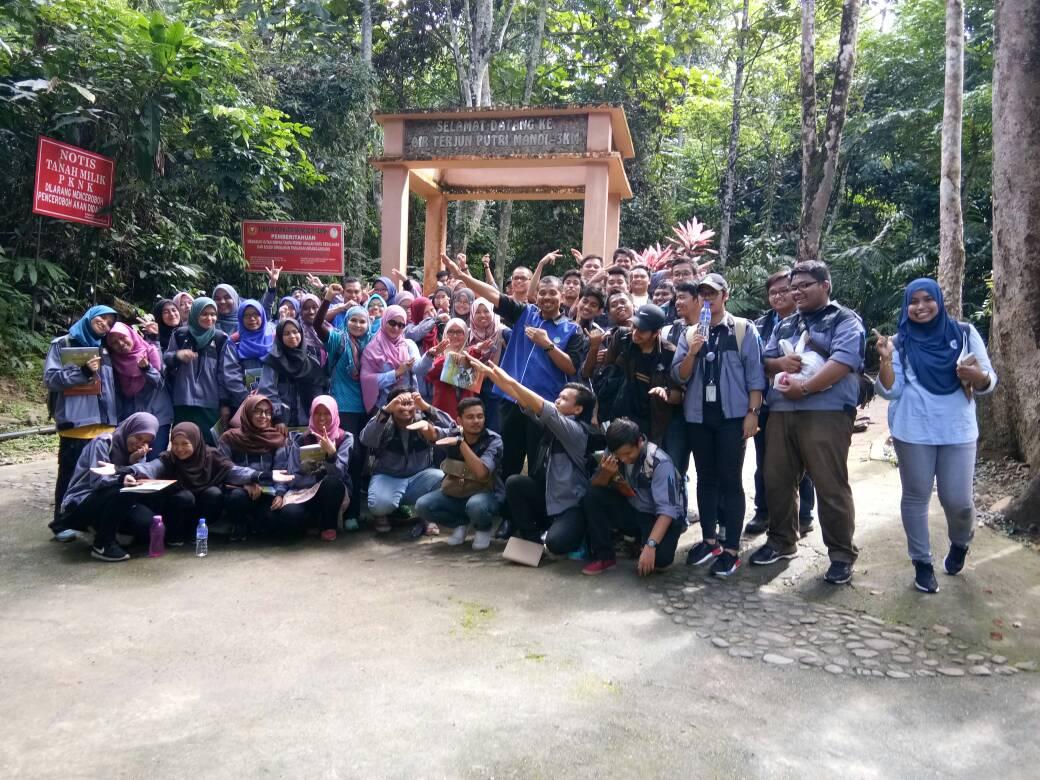 JMG KPP dedah keunikan Geopark Jerai kepada pelajar-pelajar UiTM Pulau Pinang